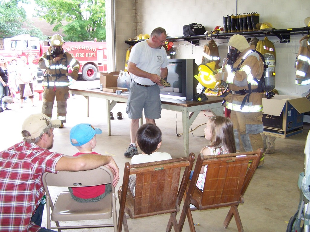 Westboro Volunteer Fire Department Fire Safety Demonstration